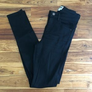ASOS Black Distressed Skinny Jeans Size 26/34""